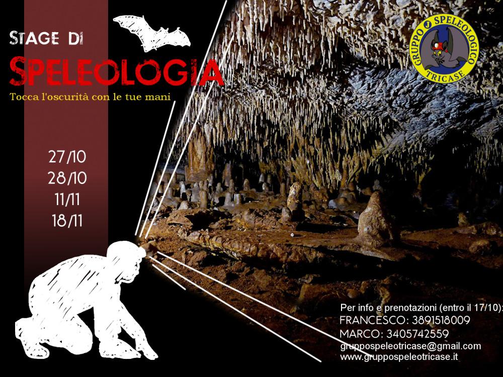 stage speleologia gruppo speleologico tricase